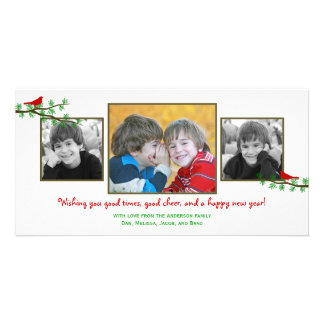 Christmas Twitters Holiday Photo Card