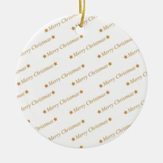 Christmas Typography Merry Christmas Pattern Christmas Ornament