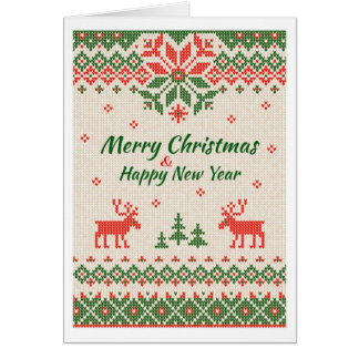 Christmas - Ugly Sweater Card