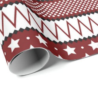 Christmas ugly sweater Holiday wrapping paper