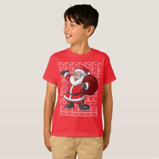 Christmas Ugly Sweater Santa Claus