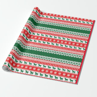 Christmas - Ugly Sweater - Tacky - Jumper - Wrapping Paper