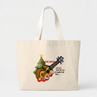Christmas Ukulele Shirt Bags