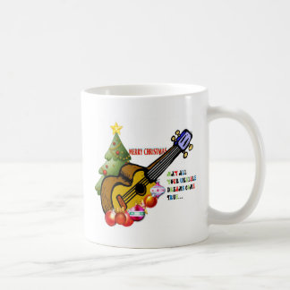 Christmas Ukulele Shirt Coffee Mug