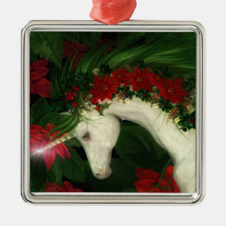 Christmas Unicorn Christmas Ornament