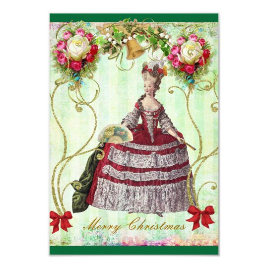 Christmas Victorian Marie Purse Cards