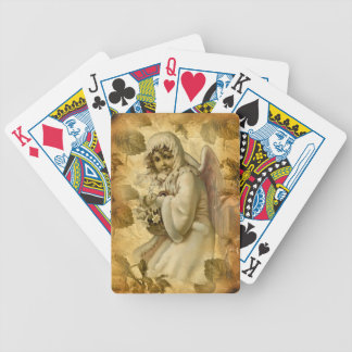 Christmas vintage design by CharmingVintage Bicycle Playing Cards