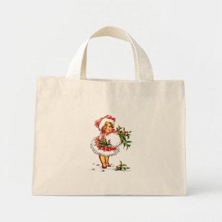 Christmas Vintage Girl Bags