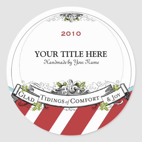 Christmas Vintage Tidings of Comfort & Joy Classic