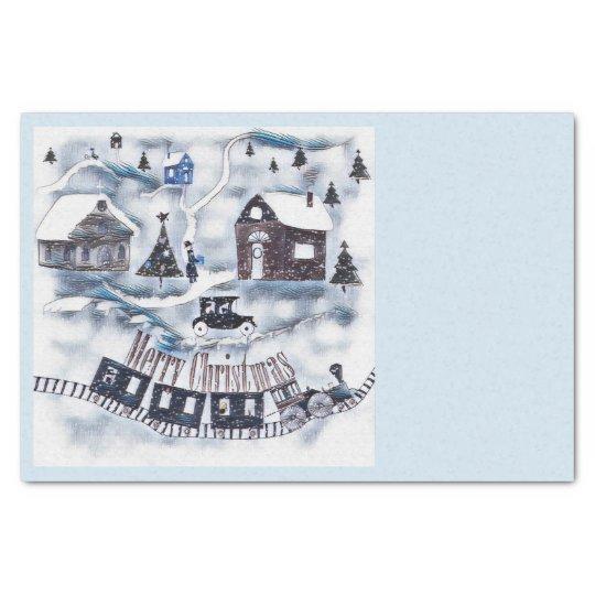 Christmas , Vintage Tissue Paper