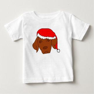 Christmas Vizsla Baby T-Shirt