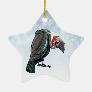 Christmas Vulture Star Ornament