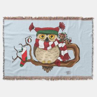 Christmas Warmth Throw Blanket