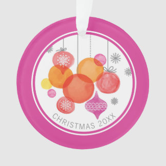 Christmas | Watercolor - Ornaments & Snowflakes
