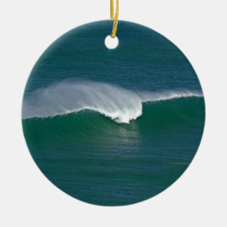 Christmas wave christmas ornament