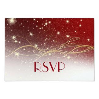 Christmas Wedding RSVP Card