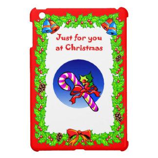 Christmas Weightlifting Santa iPad Mini Case