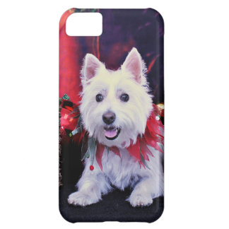 Christmas - West Highland Terrier - Madison iPhone 5C Cases