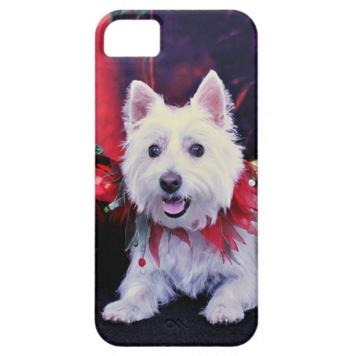 Christmas - West Highland Terrier - Madison iPhone 5 Case