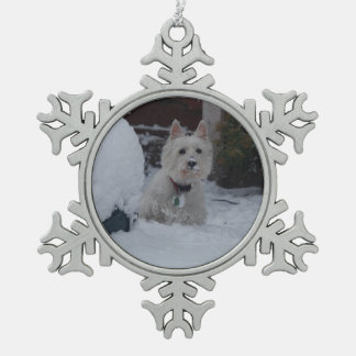 Christmas Westie decoration