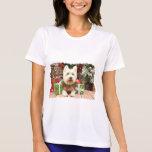 Christmas - Westie - Lucky Tee Shirt
