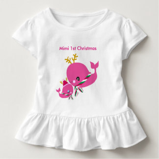 Christmas Whales Toddler T-Shirt