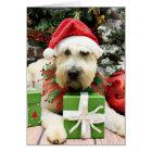 Christmas - Wheaten Terrier - Bailey Card