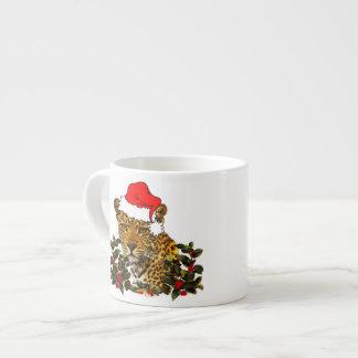 Christmas Wildcat Espresso Mug