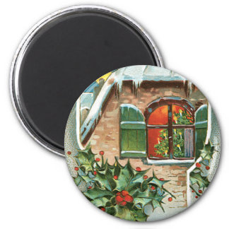 Christmas Window Magnet