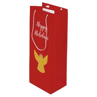 Christmas Wine Gift Bag Custom
