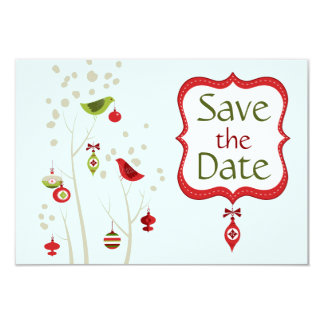 Save The Date Christmas Cards & Invitations | Zazzle.co.uk