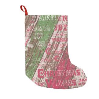 christmas winter holiday rustic christmas stocking