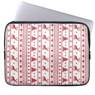 Christmas/Winter pattern Laptop Sleeve