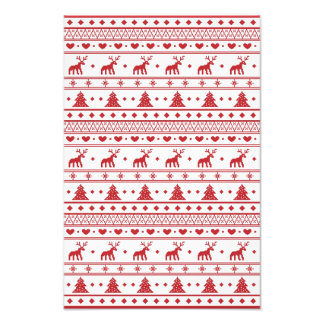 Christmas/Winter pattern Photo Print