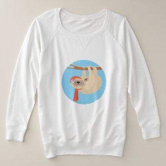 Christmas & Winter Sweatshirt - Momma & Baby Sloth
