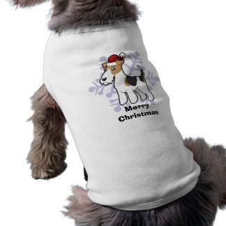 Christmas Wire Fox Terrier Shirt