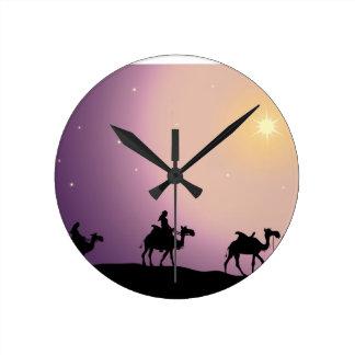 Christmas Wise Men Wall Clock