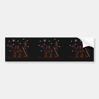 Christmas Wiseman Camel 1 2016 Bumper Sticker