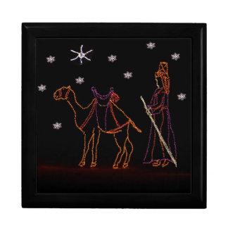 Christmas Wiseman Camel 1 2016 Large Square Gift Box