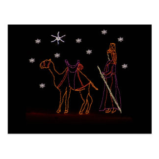Christmas Wiseman Camel 1 2016 Postcard