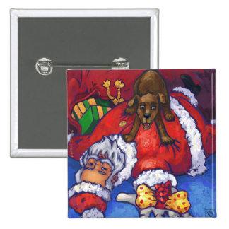 Christmas Wish 15 Cm Square Badge