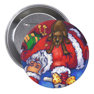 Christmas Wish 7.5 Cm Round Badge