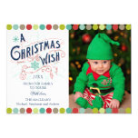 Christmas Wish Holiday Groupon Photo Cards