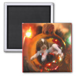 Christmas Wish Square Magnet