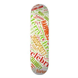 Christmas wishes 20 cm skateboard deck