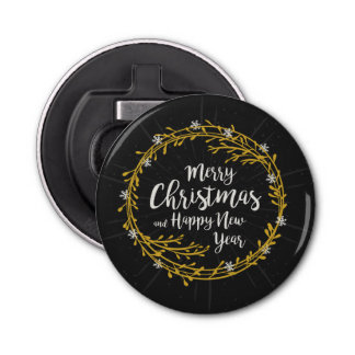 Christmas Wishes bottle opener