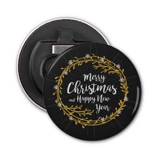 Christmas Wishes bottle opener