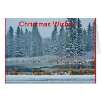 Christmas Wishes - Christmas card