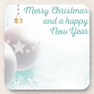 Christmas wishes coaster