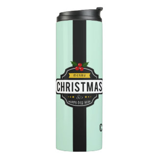 Christmas Wishes custom name tumbler